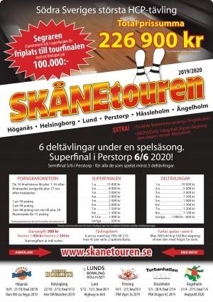Skånetouren 19/20